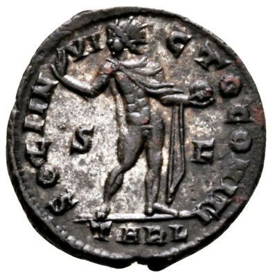CONSTANTINE THE GREAT (316 AD) Scarce Follis. Arles #MA 9383