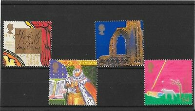 GB Stamps SG2115-2118, Christmas 1999 The Christians Tale -MNH