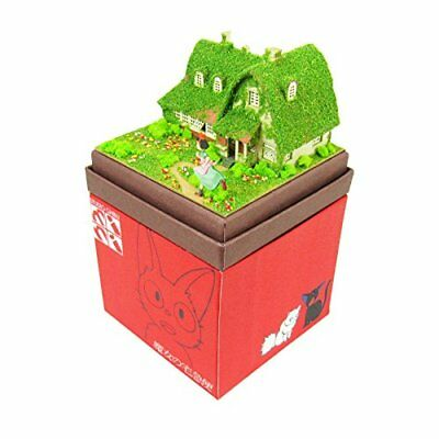 Kikis Ghibli Mini Okinos House Miniature Model Kit (Japan Import)