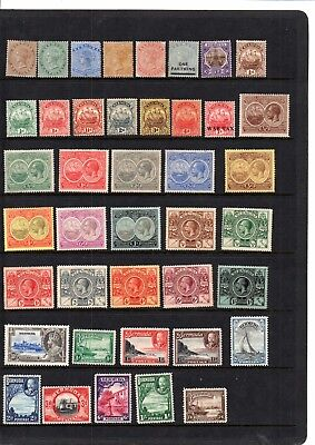 A Selection Of Early  Mint Stamps From Bermuda