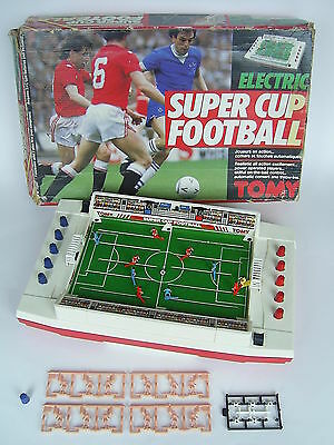 Tomy Super Cup Football – Electric Football Game – Boxed