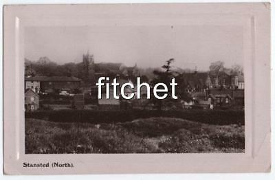 WW1 1914 RPPC  Stansted North Essex. From GH Priestley 5th Lincs Regt KIA 1915