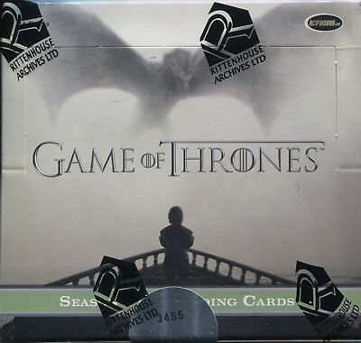 Game Of Thrones Season 5 Factory Sealed Trading Card Hobby Box