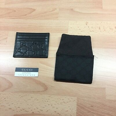 Preowned Gucci Credit Card Case