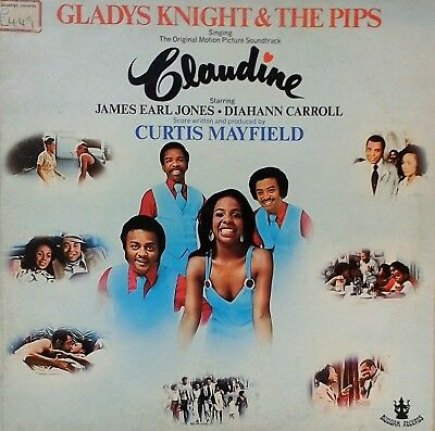 GLADYS KNIGHT AND THE PIPS~CLAUDINE~SOUNDTRACK~2318097~1st PRESS~UK VINYL LP