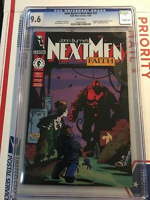Next Men #21 - CGC 9.6 - 1st Hellboy Comic App