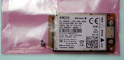 Dell Wireless WWAN 5530 MiniCard DW5530 KM266 3G HSPA Mobile Broadband Card New