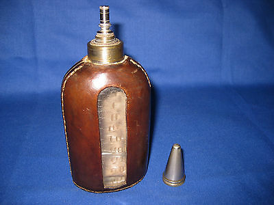 Unusual Antique Medical / Surgical Ether or Anaesthetic Dropper Bottle