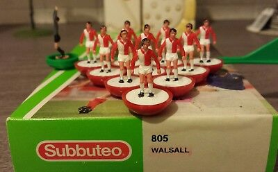 Subbuteo LW team ref 805 Walsall MP version