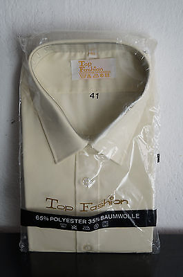 Vintage Herren Hemd Shirt 60er 70er NOS Top Fashion Gr 41