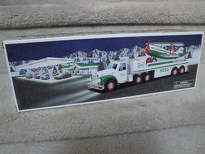 MIB 2002 Hess Toy Truck And Airplane Battery Operated Set