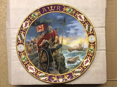 Decorative Wall Plate Alfred The Great
