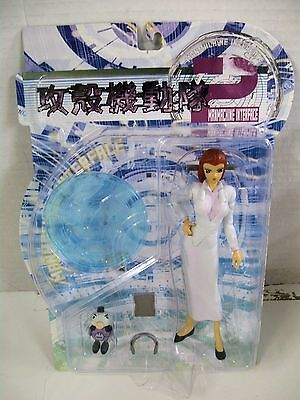 MAN MACHINE MATOKO ghost in the shell two ACTION FIGURE white skirt BLUE STAND