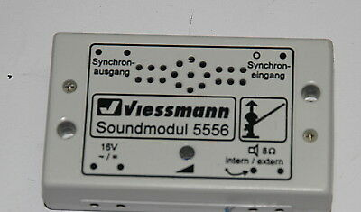 "Viessmann 5558 "" Soundmodul 16 V """