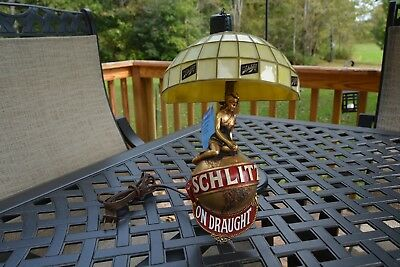1970's Schlitz on Draught Hanging wall lamp VGC