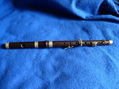 Antique Besson & Co. 4 key Bb flute - hardwood – Ulster marching bands – PK/34I