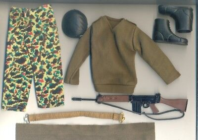 VINTAGE ACTION MAN Last Issue SOLDIER COMPLETE OUTFIT+ACC. (3 pictures)