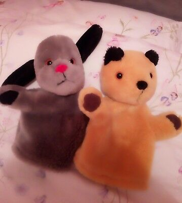 Sooty and Sweep hand puppets