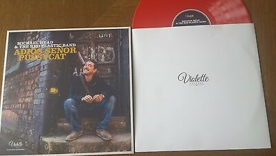 "Michael Head & The Red Elastic Adios Senor Pussycat - Ltd 12"" Red Vinyl Lp Shack"