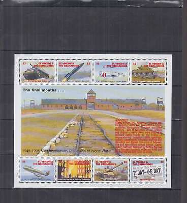 T36. St.Vincent - MNH - Transport - Airplanes - Military