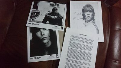 Ian Brown Golden Greats press release + photo's (Stone Roses / Oasis / Promo)