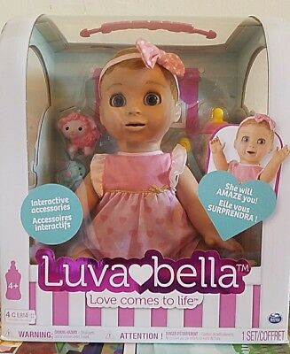 Luvabella Interactive Baby Doll Blonde Hair HOT TOY Luva ❤️ Bella NEW IN PACKAGE