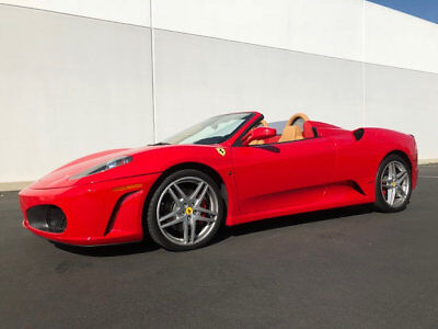 2006 Ferrari 430 2dr Convertible Spider 2006 Ferrari 430 F430 Convertible Spider Rosso Corsa Carbon 11k Miles Loaded