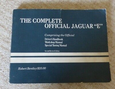 Jaguar E-type Manual complete offical workshop manual by Robert Bentley