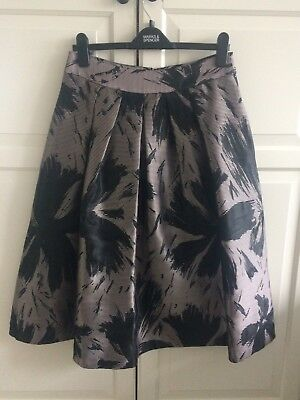 Pink And Black Coast Skirt