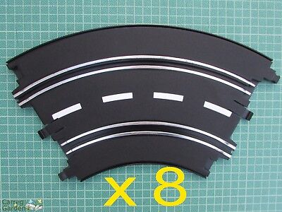 Artin 1:32 Slot Car Road Racing Track Curves x 8 Replace Upgrade or Extend