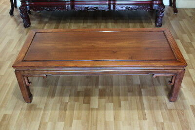 Solid Asian Rosewood ( Huanghuali ) Low Table or Coffee Table