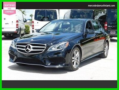 2016 Mercedes-Benz E-Class E 350 Sport 2016 E 350 Sport Used Certified 3.5L V6 24V Automatic Rear Wheel Drive Sedan