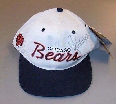 Bryan Cox Autographed Chicago Bears Hat Cap #52 One Size Fits All 100% Authentic