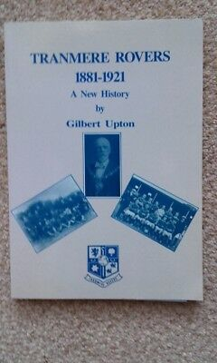 Football book Tranmere Rovers 1881-1921