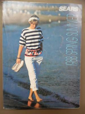 1988 SEARS Catalog Spring & Summer Fashion Home Decor Vintage Original