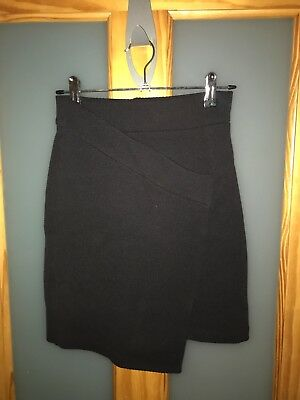 Black High Waist Skirt H&M 6
