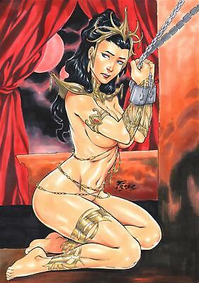 "Dejah Thoris (09""x12"") by Fred Benes - Ed Benes Studio"