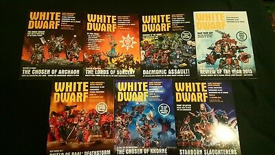 White Dwarf Issue 44,59,92,97,98,99,100/weekly