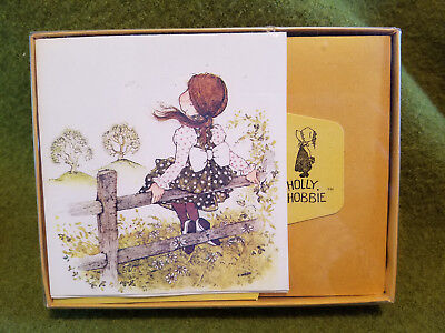 10 Holly Hobbie Write-A-Notes unused in box stationery American Greetings