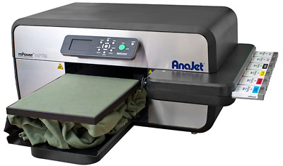 Priced to Move. AnaJet mp10i DTG Printer 4 NEW printheads worth $1275 each