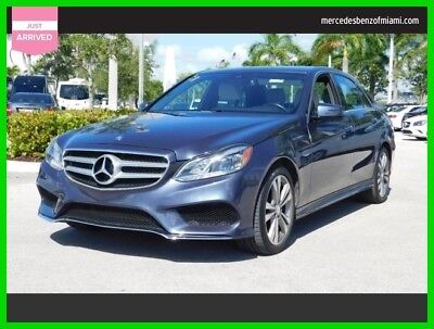 2015 Mercedes-Benz E-Class E 350 Sport 2015 E 350 Sport Used 3.5L V6 24V Automatic Rear Wheel Drive Sedan Premium
