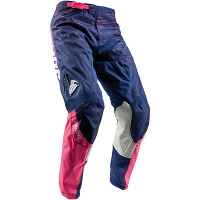 Thor Pulse Dashe Womens MX Offroad Pants Navy/Pink