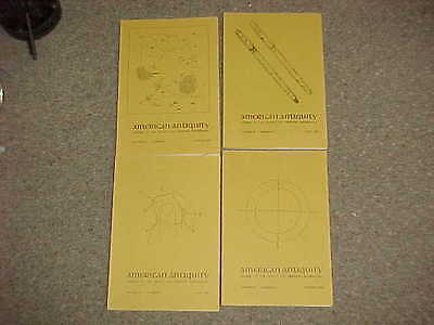 American Antiquity-Complete year 1980-Volume 45, Numbers 1,2,3,4-Archaeology