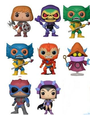 (PRE-ORDER) Chase Bundle| Funko POP | Masters of the Universe MOTU |Protectors!