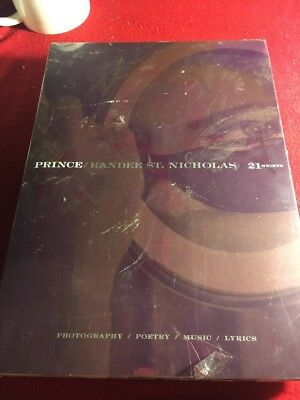 New Prince 2007 21 Nights  Concert Book With Jacket And Cd Sealed Music