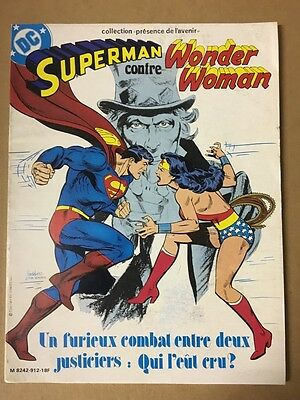 Superman contre Wonder Woman - Sagedition - 1979 - NEUF