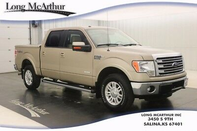 2013 Ford F-150 LARIAT 4X4 ECOBOOST SUPERCREW TRUCK MSRP $46440 USED CERTIFIED TURBO 3.5L 6 SPEED AUTOMATIC 4WD PICKUP TRAILER TOW PACKAGE