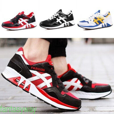 Men's Outdoor Sports Breathable Casual Sneakers Running Shoes 2017 NEW FASHION