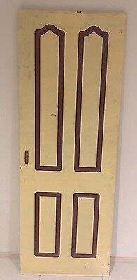 Heavy WOODEN Solid DOOR Vintage Solid Timber WOOD 1980 x 720 x 35mm or SLIDING