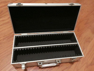 STURDY Aluminum Storage Box Case SECURELY Holds 50 PCGS NGC ANACS Graded Coins!